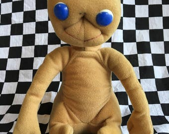 Excellent ET The Extra Terrestrial Plush Doll - Showtime - VG