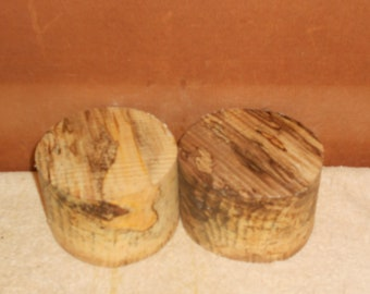 Spalted Hackberry, 5 X 3  Turning wood bowl blanks    #48517