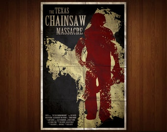 The Texas Chainsaw Massacre Poster (Multiple Sizes)