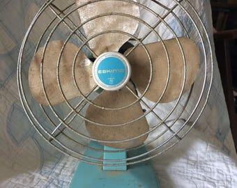 Small Eskimo Vintage Desk Fan
