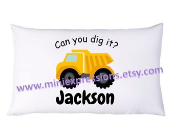 Can You Dig It? Personalized PillowCase