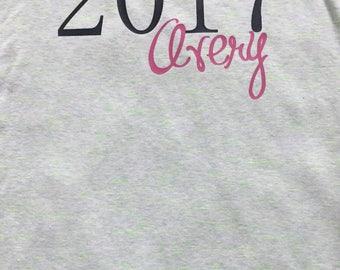 Disney Inspired Year & Name Vacation T-Shirt