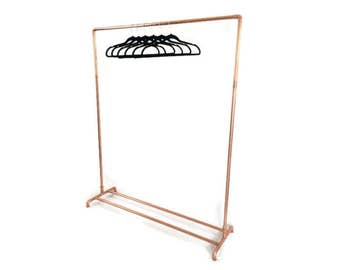 Copper Pipe Copper Clothing Rack Clothes Rail Made To Order