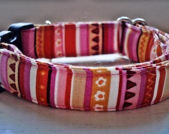 Pretty Bohemian - Eco Dog Collar (Wide)