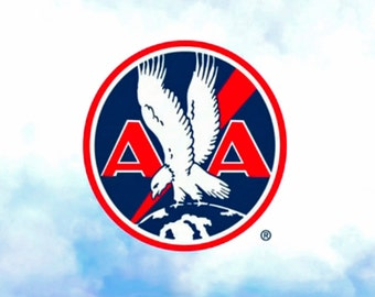 American Airlines Logo Fridge Magnet (LM14079)