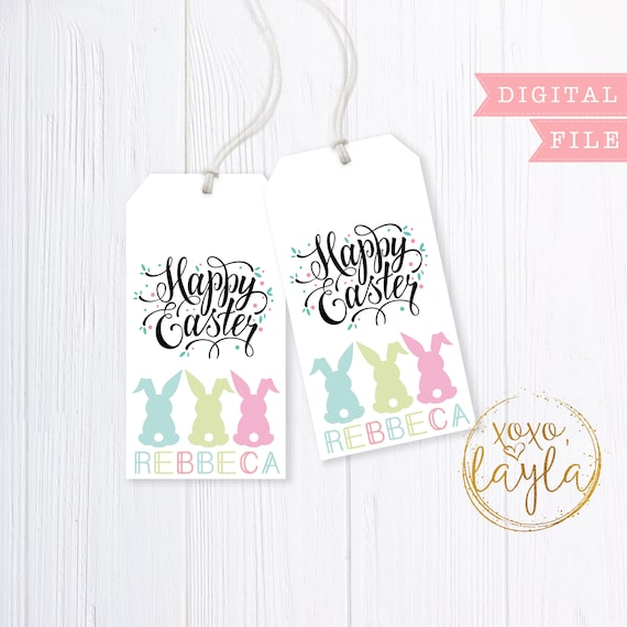 Easter tags easter tags printable easter tag pdf easter easter tags easter tags printable easter tag pdf easter gift bag tag easter gift bag printable gift tag easter thank you gift bag tag negle Choice Image