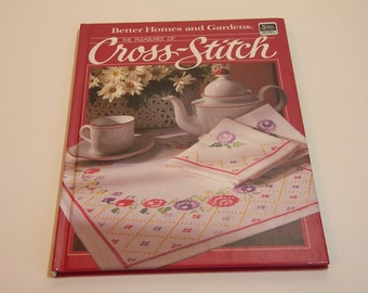 The Pleasures Of Cross Stitch Vintage Book