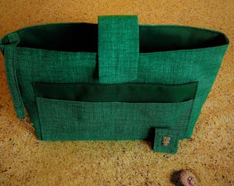Heather Green bag Organizer