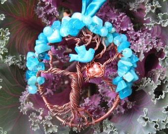 Enchanted Turquoise Jasper Fairymagic tree of life