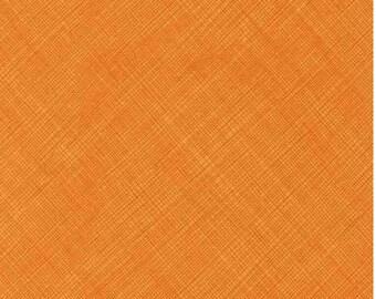 Bias Sketch Fabric C2959-Papaya; Fat Quarter, Third Yard, Half Yard, or By The Yard; Timeless Treasures; Orange