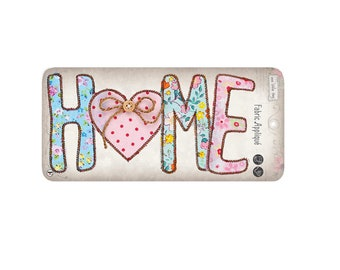 Home Sew On Applique, Home Sew-On Patch, Love Patch, Home Sweet Home, Fun Patch, Embroidered Patch