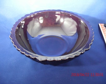 Cape Cod Ruby Red Serving Bowls