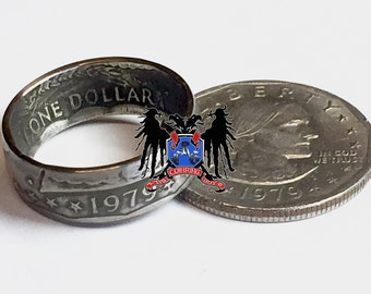 Susan B Anthony coin ring