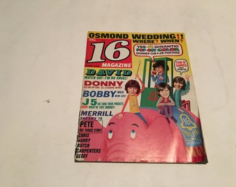 april 1972 16 magazine magazine complete