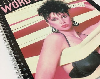Toni Basil  Recycled album cover notebook -