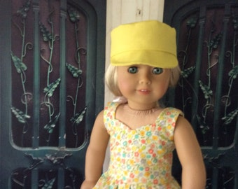 American Made Girl Doll Clothes-Citron Patrol Cap for 18 Inch Dolls Free Shipping