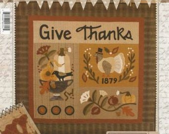 Buttermilk Basin Give Thanks Quilt Pattern