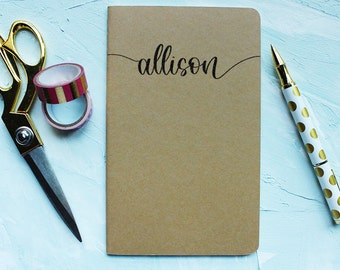 "Custom Journal - Custom Notebook - Custom Moleskine® Journal - 5x8.25"" Journal - Personalized Journal - Personalized Moleskine® Journal"