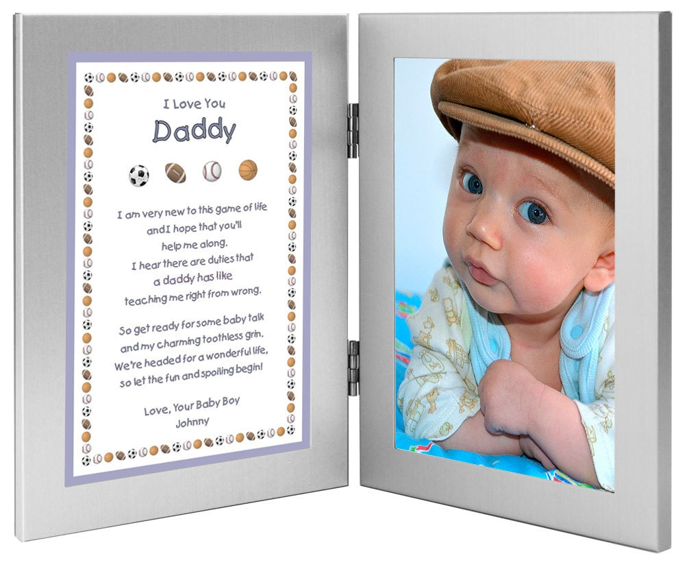 New Dad Personalized Birthday or Valentine's Day Gift