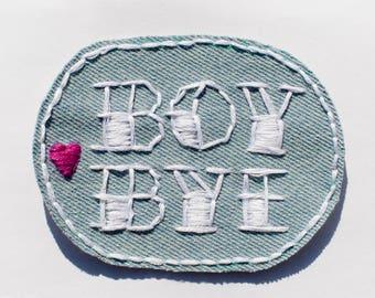 Boy Bye Patch