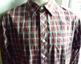 Vintage Fatface Size XS 32/34 81/86 long sleeved casual shirt