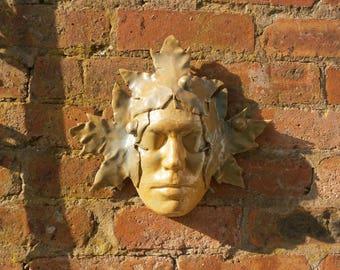 Pottery Wall Mask - Studio Art - Vintage