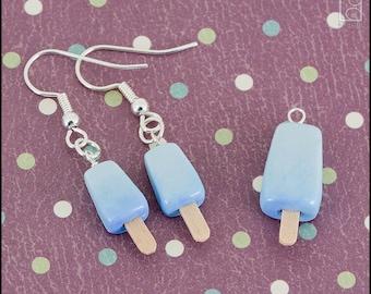 Kingdom Hearts Sea Salt Ice Cream Charm or Earrings (Made to Order)
