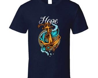 Anchor Vintage Tattoo T Shirt