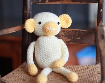 Little Monkey, Plush Toy, Stuffed Animal, Crochet Baby Gift