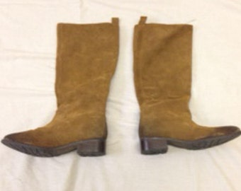Women's Brown Suede Boots, size 7