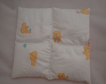 Child's weighted lap pad 1kg, baby bears . Autism ADHD sensory, for concentration or anxiety