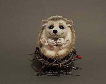 SOLD! Hedgehog wool