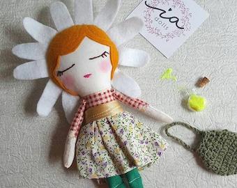fairy flowers 20 cm, 100% handmade