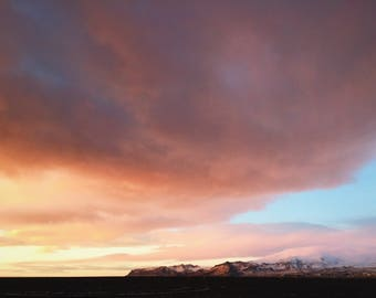 Icelandic Sunset | Iceland Street Photography Download