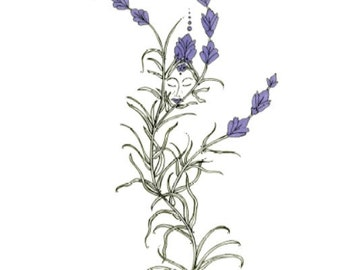 Lavender, A Greeting Card