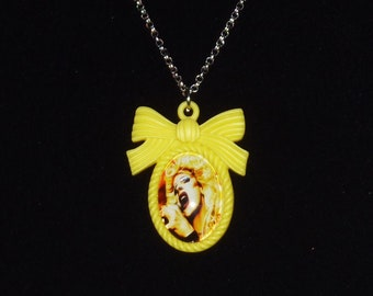 Hedwig and the Angry Inch Inspired Resin Cameo Necklace / Hedwig and the Angry Inch / Hansel Schmidt / Musical / Hedwig Robinson