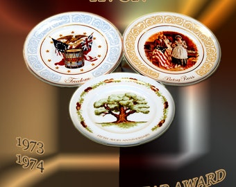 Avon;  Commemorative Plates.