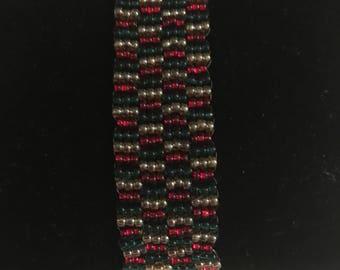 Tricolor Beaded Bracelet