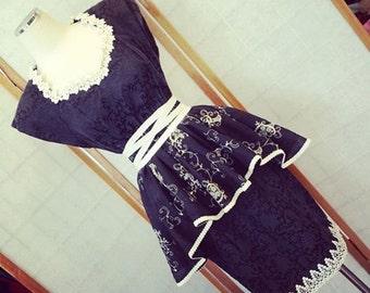 gothabilly fairy dress