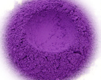 5g Mineral Eye Shadow - Very Violet - Vivid Violet With Suede Finish