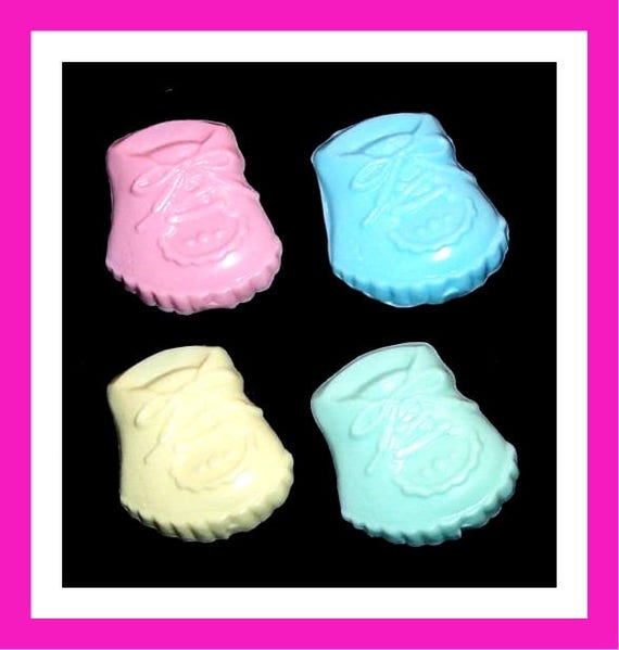 24 Baby Bootie Shoe Soap Favors,Baby Shower Favor,Personalized Baby Shower Button Pin,Its a Girl,Its a Boy,Baby,Gender Reveal,Kid Soap,Favor