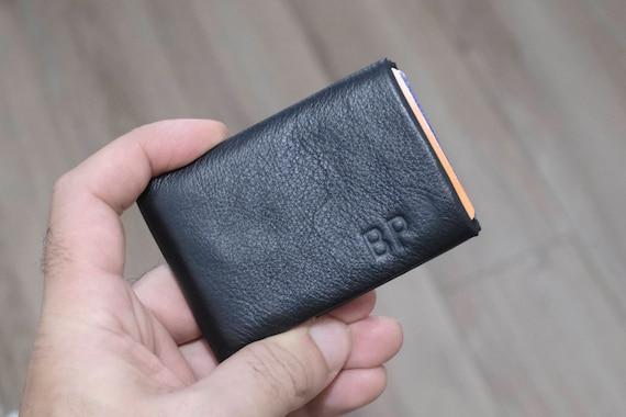 Mens Wallet, Minimalist Wallet, Womens Wallet, Leather Wallet, RFID Wallet, New Generation Nero Wallet - 30% Thinner Ultra Slim Wallet