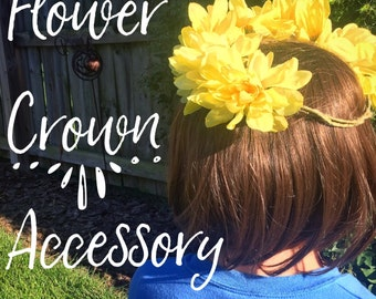 Flower Crown Accessory