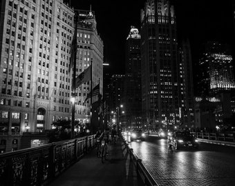 Chicago Portraits, Downtown Chicago, Buildings, Office Decor, Chicago Prints, Custom Framing, Wrigley Building, Black and White, Wall Art