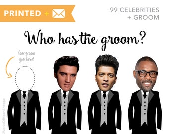 100 QTY – Who has the groom? – Printed plus Envelopes