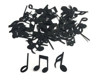 100 Assorted Music Note Confetti, Die Cut, Rockstar Baby Shower, Music  Theme Party