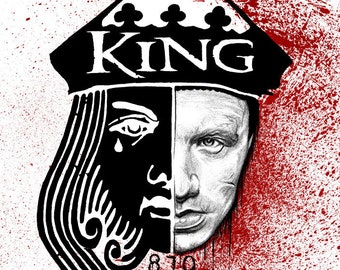 "King 810 ""Still a King"" A4/A3 size ART PRINT"