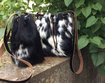 Cowhide Bucket Bags