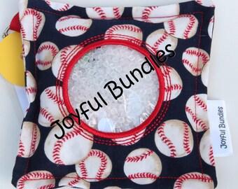 I Spy Bag, Baseballs, Car Game, Educational Game, Busy Bag, Travel Toy, I Spy Game, Party Favors, Eye Spy Game, Stocking Stuffer