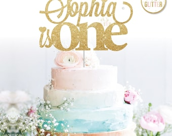 Customised cake topper, Birthday, Gold cake topper, glitter cake topper, custom, personalised cake smash first 1st 1 one two three four five
